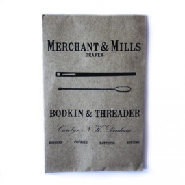 Needle threader and bodkin needles