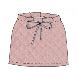 Quilted skirt tutorial France Duval Stalla