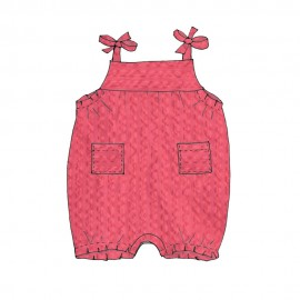 Rompers baby tutorial France Duval Stalla