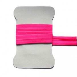 Fluorescent pink bias tape
