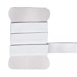 White elastic band 20 mm
