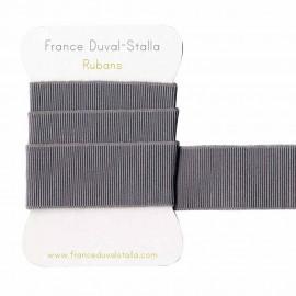Elastique gris lurex argent 30mm