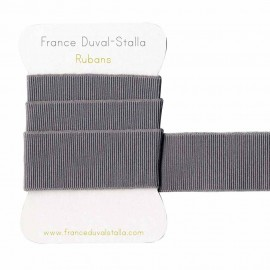 Grey and silver lurex elastic 30 mm