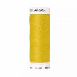 Fil à coudre jaune Mettler 200 m N°0116