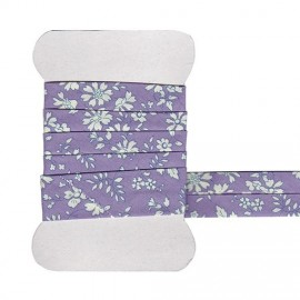 Purple Capel Liberty bias tape