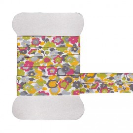 Yellow Gleeson Liberty bias tape