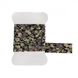 Green Wiltshire Liberty bias tape