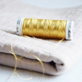 Sewing thread golden