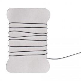 Cordon élastique gris clair - 1 mm