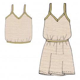 Suzanne, camisole/dress Tutorial