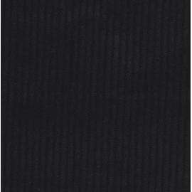 Velours grosses côtes - Noir