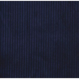 Navy corduroy fabric