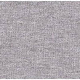 Jersey molleton gris chiné