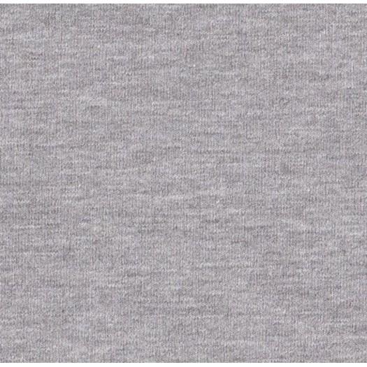 Jersey molleton bleu chiné