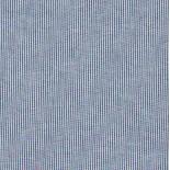 Tissu fines rayures - blanc et bleu foncé