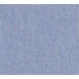 Tissu fines rayures - blanc et bleu