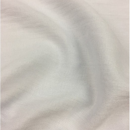 Tissu viscose texturé - blanc rosé