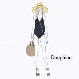 KIT Maillot de bain Dauphine - bleu marine