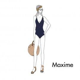 KIT Maillot de bain Maxime - bleu marine