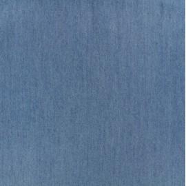 Tissu tencel bleu