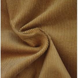 Camel velvet fabric
