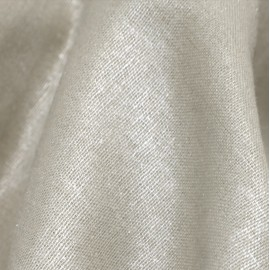 Apricot plumetis washed linen