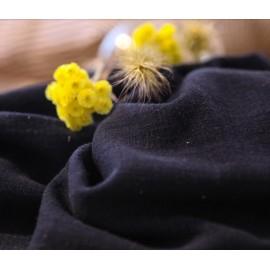 Navy textured cotton fabric
