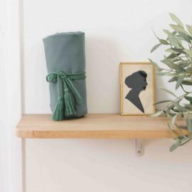 Tarentelle green pompon cord