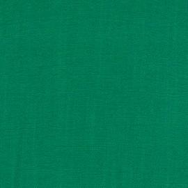 Green viscose linen fabric