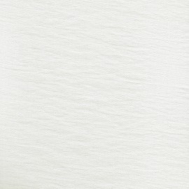 Tissu viscose texturé blanc cassé