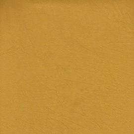 Yellow slightly textured cotton fabric