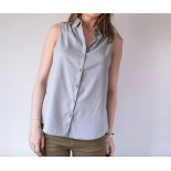Blouse sewing pattern aime comme madrilène