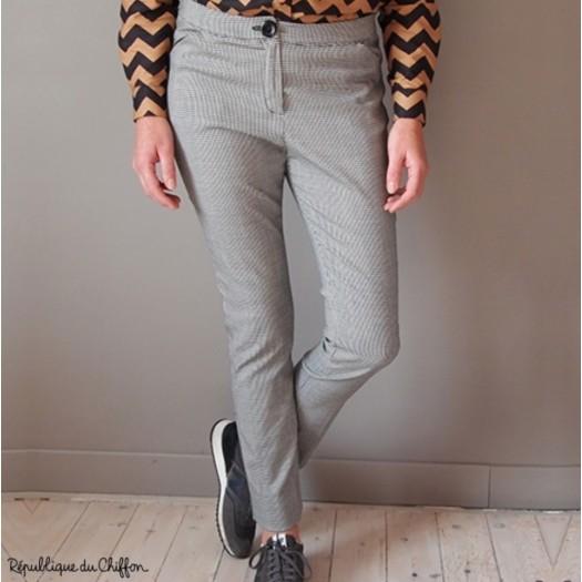 Patron pantalon Maurice - Republique du Chiffon