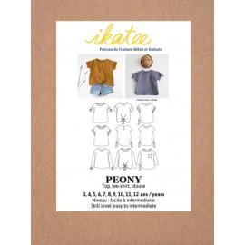 Sewing pattern pattern Peony Ikatee