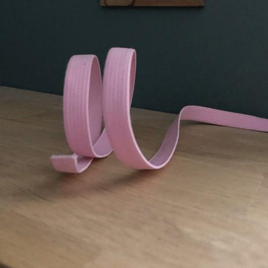 Elastique plat rose