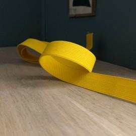 Elastique plat jaune