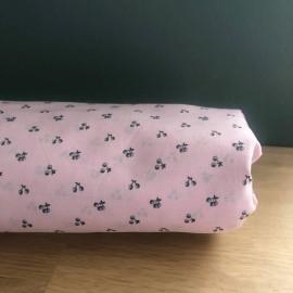 Coupon 1,20 m batiste coton rose cerise