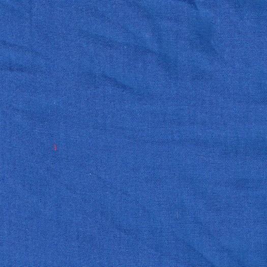 Coupon 1 m 40 double gaze bleu électrique