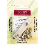 Oeillets blanc 4 mm - Bohin