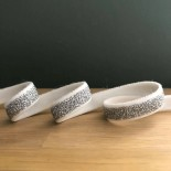 Ruban élastique blanc lurex argent 11 mm - France Duval Stalla