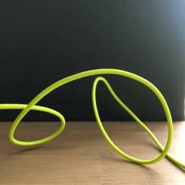 Cordon élastique jaune fluo - 3 mm
