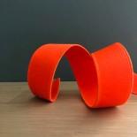 Ruban élastique orange fluo 25 mm - France Duval Stalla