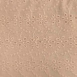 Coton broderie anglaise nude 01