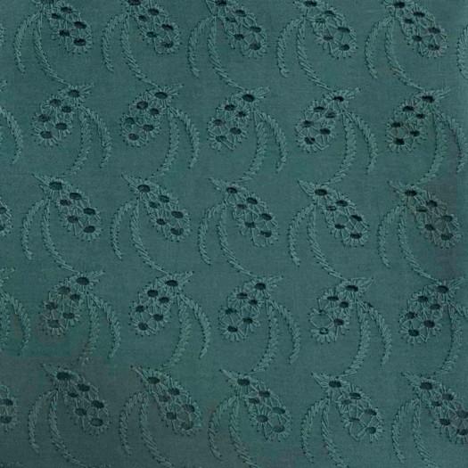 Coton broderie anglaise vert eucalyptus 03