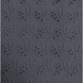 Coton broderie anglaise encre 03