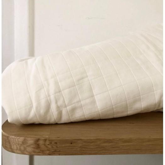 Coton matelassé Tayio blanc