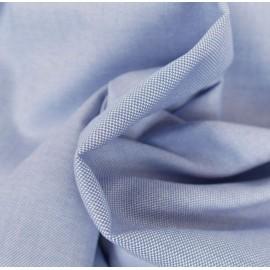 Coton chemise bleu