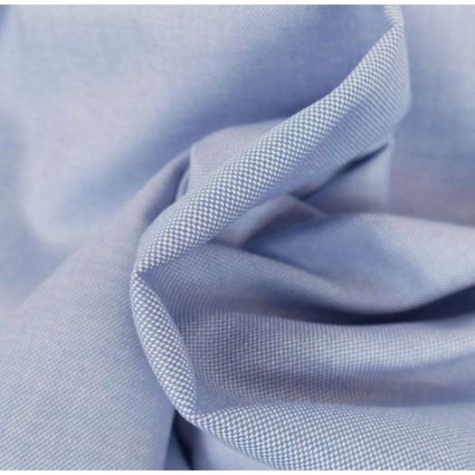 Coton chemise bleu lavande