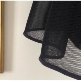 Tissu tulle mesh noir -France Duval Stalla