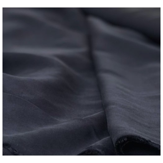 Tissu viscose bleu marine - France Duval Stalla